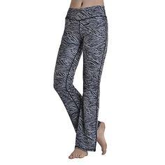 5e6e77b31b9 Yoga Pants FEIVO Womens Loose Casual Long Fashion Printing Elastic Comfy  Sports Gym Leggings Running Pants