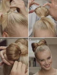 tuto coiffure simple - Recherche Google