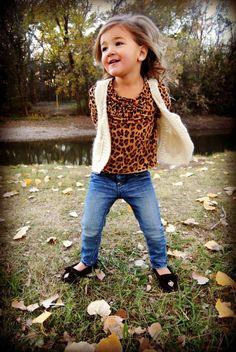 Fall fashion kid