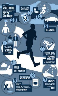 Tips for #running under the rain. #run