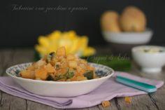 Pasta con zucchine e patate ricetta