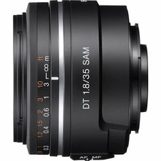 Amazon.com: Sony Alpha SAL35F18 35mm f/1.8 A-mount Wide Angle Lens (Black): Camera & Photo