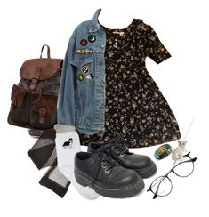 """""""Untitled #81"""" by shenzi-uni ❤ liked on Polyvore featuring Levi's, Retrò, Endless, Ray-Ban and H&M"""