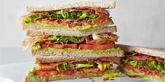 BBC Sandwich recipes with health benefits - Low-calorie BLT- prosciutto, lettuce, tomato, avocado