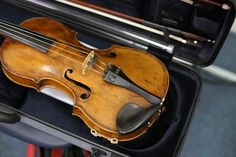 Beautiful violin spotted at the GV Concert Orchestra rehearsals