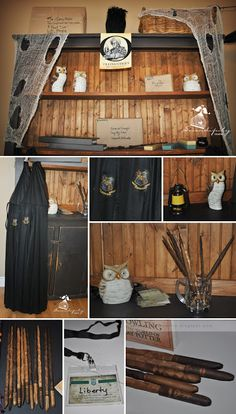 Serendipity Soiree:paperie. event styling. design: {Parties} Harry Potter - Hogwarts School of Witchcraft and Wizardry!