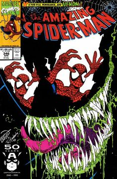 The Amazing Spider-Man # 346 | Cover by Erik Larsen & Randy Emberlin