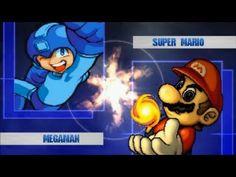 MUGEN無限格鬥 Megaman VS Mario【Watch Mode】洛克人VS瑪利歐【觀戰模式】