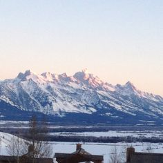 Good morning Jackson Hole...loved this place!!!