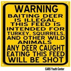 Deer Hunting Season November 15th