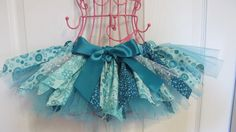 Spring Fabric Tutus by CraftyLifeCreations on Etsy