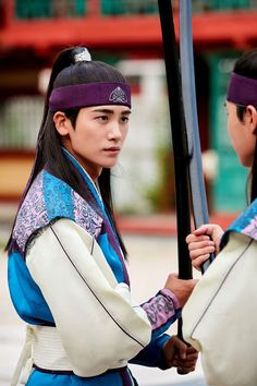"Hwarang on Twitter: ""stills for Hwarang Episode 12 (3) #화랑 #12회 #박서준 #박형식… "" Asian Actors, Korean Actors, Hwarang Taehyung, Korean Drama Stars, Park Hyung Shik, Korean Tv Series, Best Kdrama, Korean Traditional Dress, A Love So Beautiful"