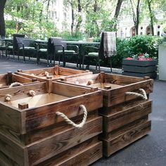 Ящики для цветов. Мой хендмейд для Salieri.