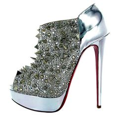 None other, Louboutin. ... Uploaded with Pinterest Android app. Get it here: http://bit.ly/w38r4m