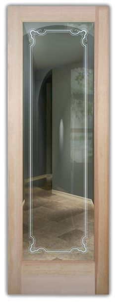 Shop our glass entry doors. Customize your glass doors with a wide variety of quality designs to fit any decor. Start exploring your glass doors options now! Exterior Doors With Glass, Entry Doors With Glass, Glass Doors, Art Deco Borders, Lake Arrowhead, Winter Trees, Front Entry, Oak Tree, Frosted Glass