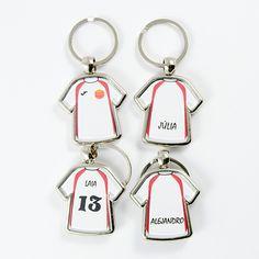 #llavero #camiseta #personalizado para tu #equipo #deportivo