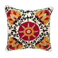 Poppy Suzani Pillow