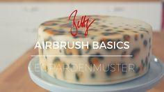 Airbrush Basics - Leopardenmuster | Betty´s Sugar Dreams leo print cake torte, dekoration, decoration, style, how to, DIY, tutorial, video