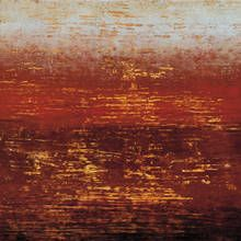 Gallery Direct Fine Art Prints: Red Strata Iii by Benjamin Arnot