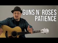 """How to Play """"Patience"""" by Guns N' Roses - Easy Acoustic Songs on Guitar - Guitar Lesson - YouTube"""