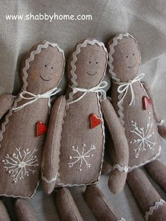 gingerdolls. i like these.
