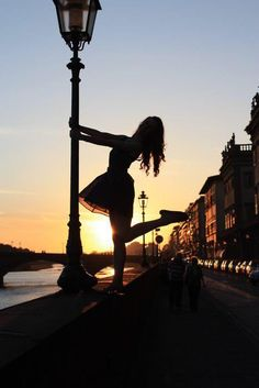 watching the sunset..right in florence <3