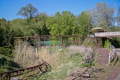 Deserted Places: Spreepark: An abandoned amusement park in Berlin.