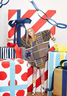 The Peter Jensen Resort 2011 Collection is Ultra Fun #giftwrap trendhunter.com