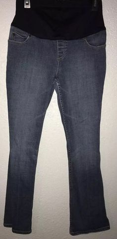 45bae202fb4 Liz Lange Maternity Jeans Size 2 EUC Boot Cut Inseam 28 Blue Casual  #fashion #clothing #shoes #accessories #womensclothing #maternity #ad (ebay  link)