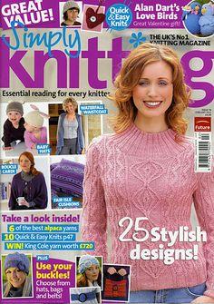 Ravelry: Simply Knitting 76, February 2011