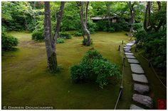 Walkway through Okochi-Sanso Villa garden