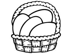 Basket of Easter Eggs Make your world more colorful with free printable coloring pages from italks. Our free coloring pages for adults and kids. Free Easter Coloring Pages, Cool Coloring Pages, Coloring Easter Eggs, Free Printable Coloring Pages, Coloring Pages For Kids, Easter Wishes, Craft Patterns, String Art, Arts And Crafts