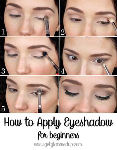 How to Apply Eyeshadow for Beginners step-by-step natural makeup tutorial video https://www.youtube.com/watch?v=sWJSNpO3RQY