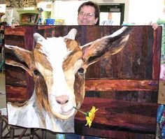 """""""amazing goat quilt"""" Three words that should never find themselves in the same sentence"""