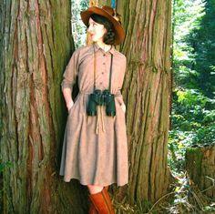 safari style dress.