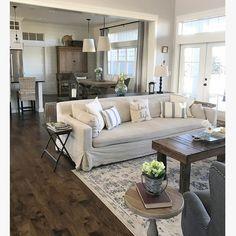 Dark natural looking wood floor