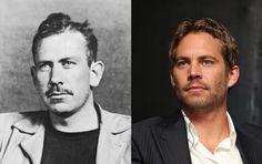 Famous Lookalikes: John Steinbeck - Paul Walker
