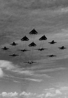 Beautiful Lines — michell169:   F-14A Tomcat, F-18A Hornet, EA-6E...