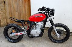 Would like to know the thoughts of you guys on which way to go next with my project, got a couple of options - 1 - 1980 (roughly) . Honda Xr400, Honda Bikes, Tracker Motorcycle, Scrambler Motorcycle, Bobber Bikes, Honda Motorcycles, Honda Dominator, Retro Scooter, Cafe Racing