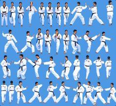 Taegeuk Sam Jang - my blue belt form Academy Of Martial Arts, Korean Martial Arts, Mixed Martial Arts, Taekwondo Gear, Taekwondo Kids, Martial Arts Workout, Martial Arts Training, Different Martial Arts, Black Belt