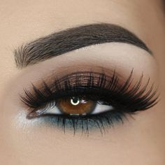 For brown eyes