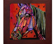 Popular items for horse tile on Etsy
