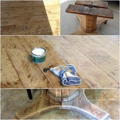 bleached wood look with liming wax - Crazy Wonderful bleached wood look with liming wax - Crazy Wonderful