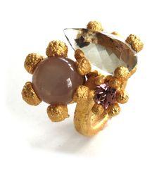 garden ring by PERNILLE MOURITZEN-DK #fk #fashionkiosk #jewellery