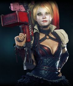 Harley Quinn - Batman Arkham Knight #BatmanArkhamKnight #BatmanArkham #ArkhamKnight #HarleenQuinzel #HarleyQuinn