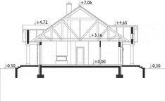 Rzut projektu Aleksandria - murowana - ceramika House Plans, Floor Plans, Houses, How To Plan, Homes, House Floor Plans, House, Computer Case, Floor Plan Drawing