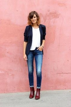 Which Jeans To Wear With a Blue Blazer | Women's Fashion