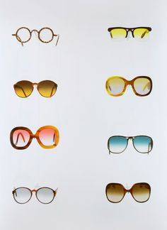 Glasses made with human hair by Studio Swine