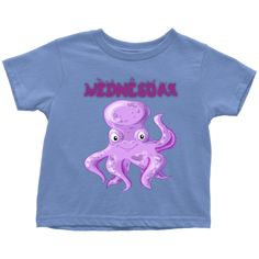 Wednesday T-shirt (Toddlers) Wednesday, Toddlers, Babies, Best Deals, Mens Tops, T Shirt, Fashion, Young Children, Supreme T Shirt