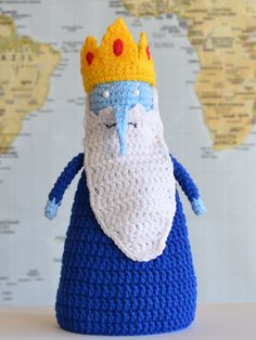 Ice King from Adventure Time #crochet #pattern